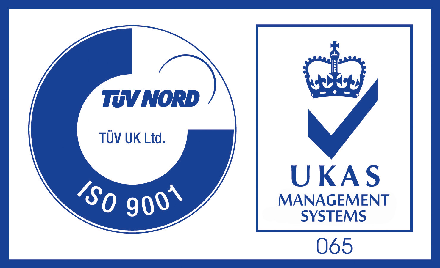 9001 TUV UK - UKAS