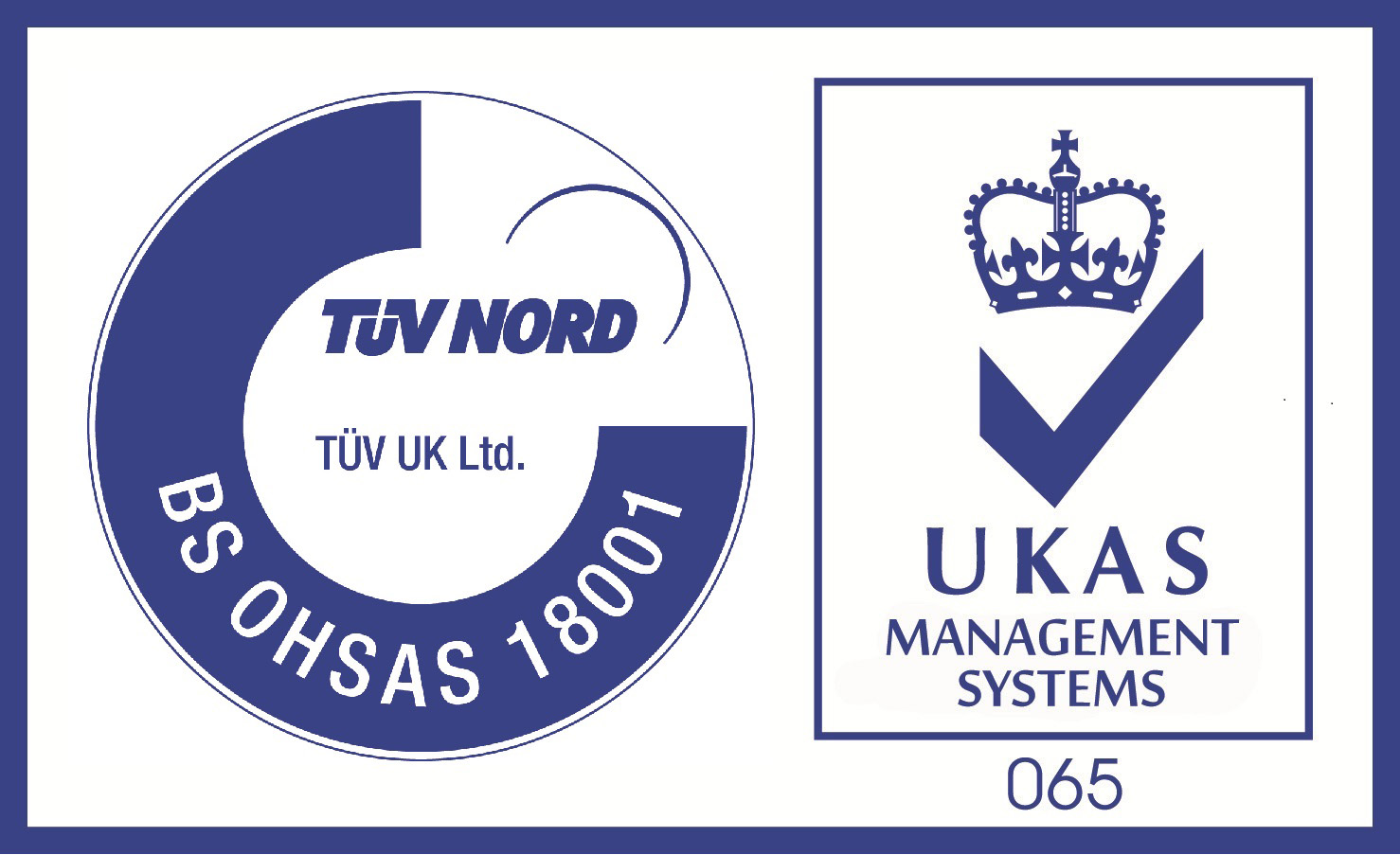 TUV UK - UKAS OHSAS 18001