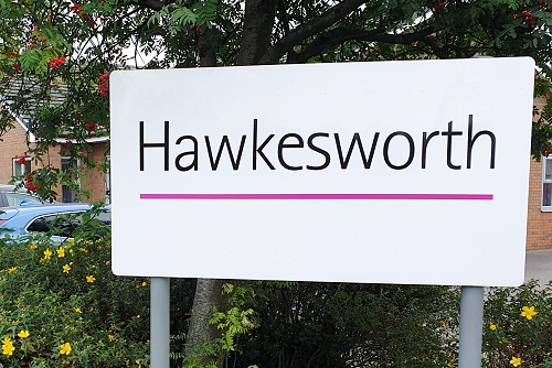 Hawkesworth sign at Head Office in Thirsk